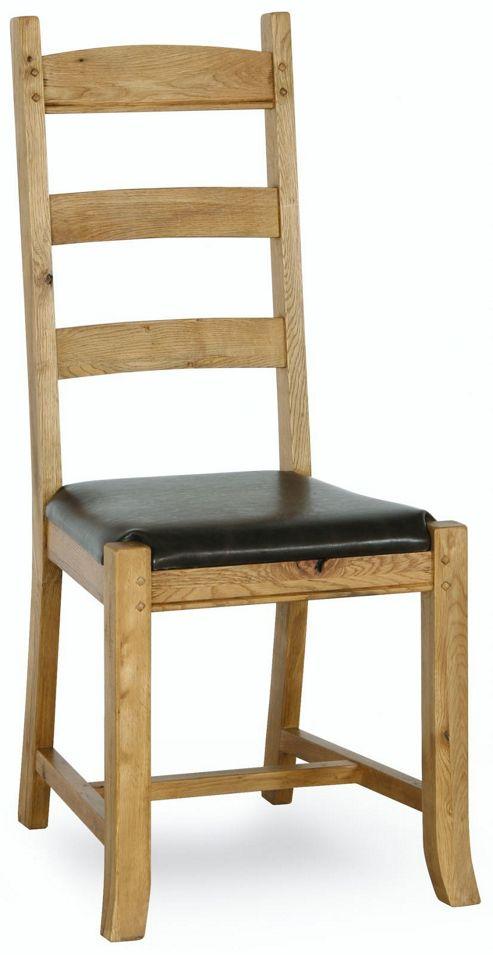 Buy Kelburn Furniture Veneto Rustic Oak Dining Chair Set Of 2 From Our Dini