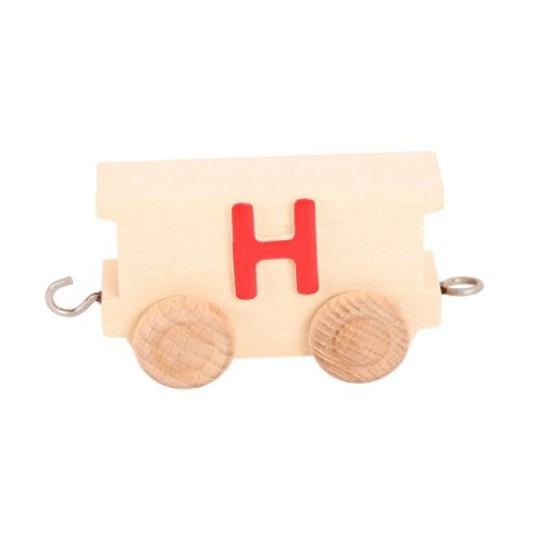 Bigjigs Toys BJ201H Name Train Letter H