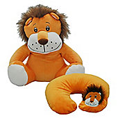Cozy Time Funky Travel Pal Lion