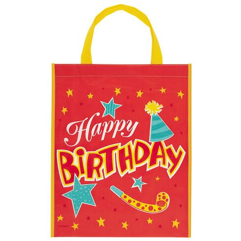 Party Bags Happy Birthday Tote Bag (each)