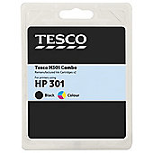 Tesco HP 301 Combo Black and Colour Multipack