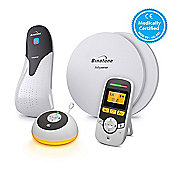 Motorola MBP161 Timer Audio Baby Monitor & BabySense 5 Breathing Monitor Bundle