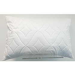 Zippered Quilted Pillow Protector