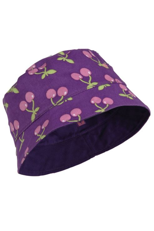 Reversible Patterned Kids 100% Cotton Sun Summer Bucket Hat