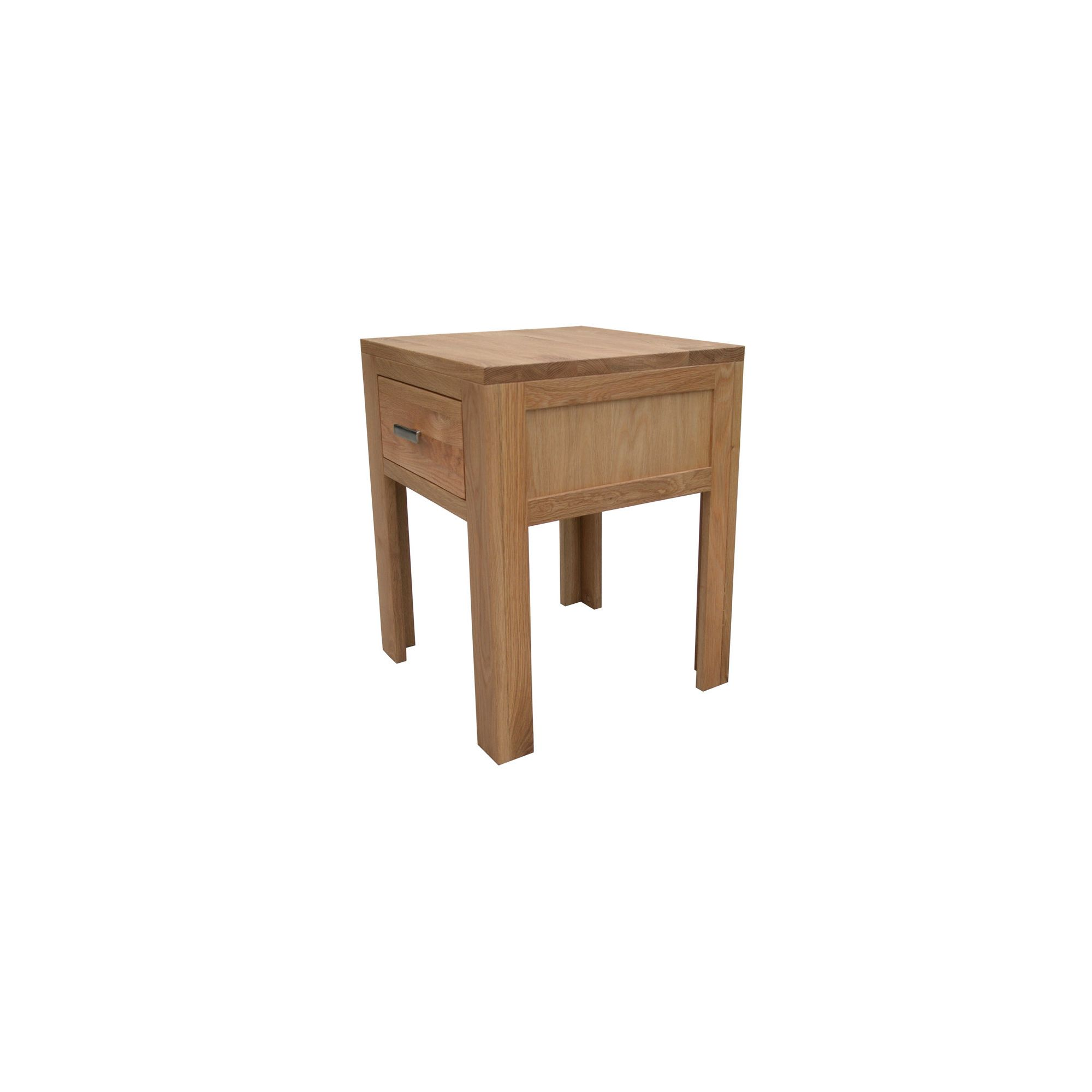 Furniture Rustic Jacobean Oak 1 Drawer Bedside Lamp Table Special Offers