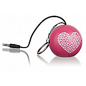 Mini Buddy Speaker Heart