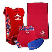 Konfidence Baby Swimming Starter Pack Strawberry - Multi