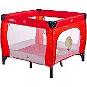 Caretero Quadra Playpen (Red)