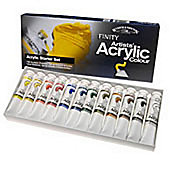W&N - Acrylic Starter Set 12 x 20ml