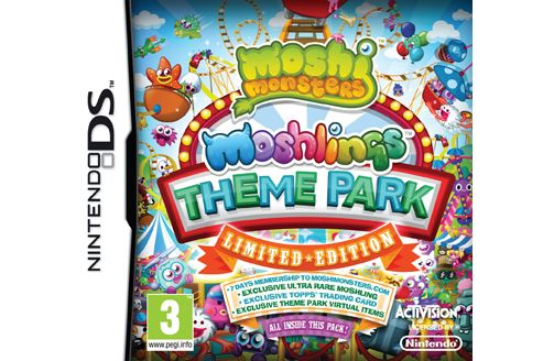 Moshi Monsters - Moshlings Theme Park