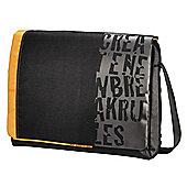 Hama Croom Notebook Bag, Black & Orange