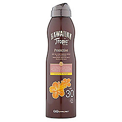 Hawaiian Tropic Continuous Oil Spray Spf30 180Ml