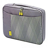 Dicota Bounce Slim Case (Grey/Yellow) for 10 inch to 11.6 inch Notebook