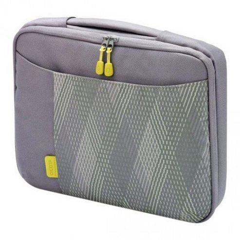 Dicota Bounce Grey and Pink Slim Case - 10/11.6 inch.