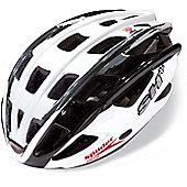 SH+ Spiider Fiery Helmet: White S/M.