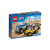 LEGO CITY Dune Buggy Trailer 60082