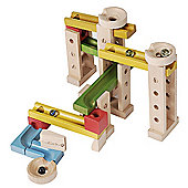 Teamson 42 Piece EverEarth Marble Run Set