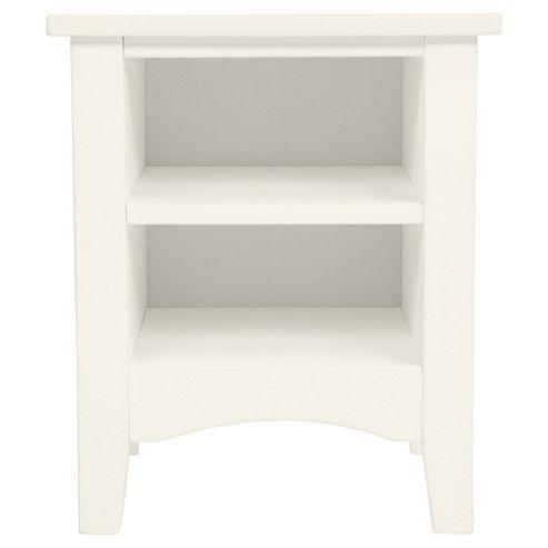 Harvey Bedside Table, White
