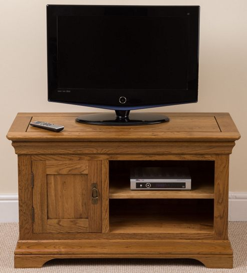 Small oak cabinets living room