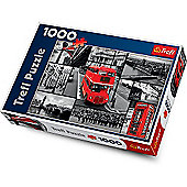 Trefl London Collage Jigsaw Puzzle - 1000 Pieces
