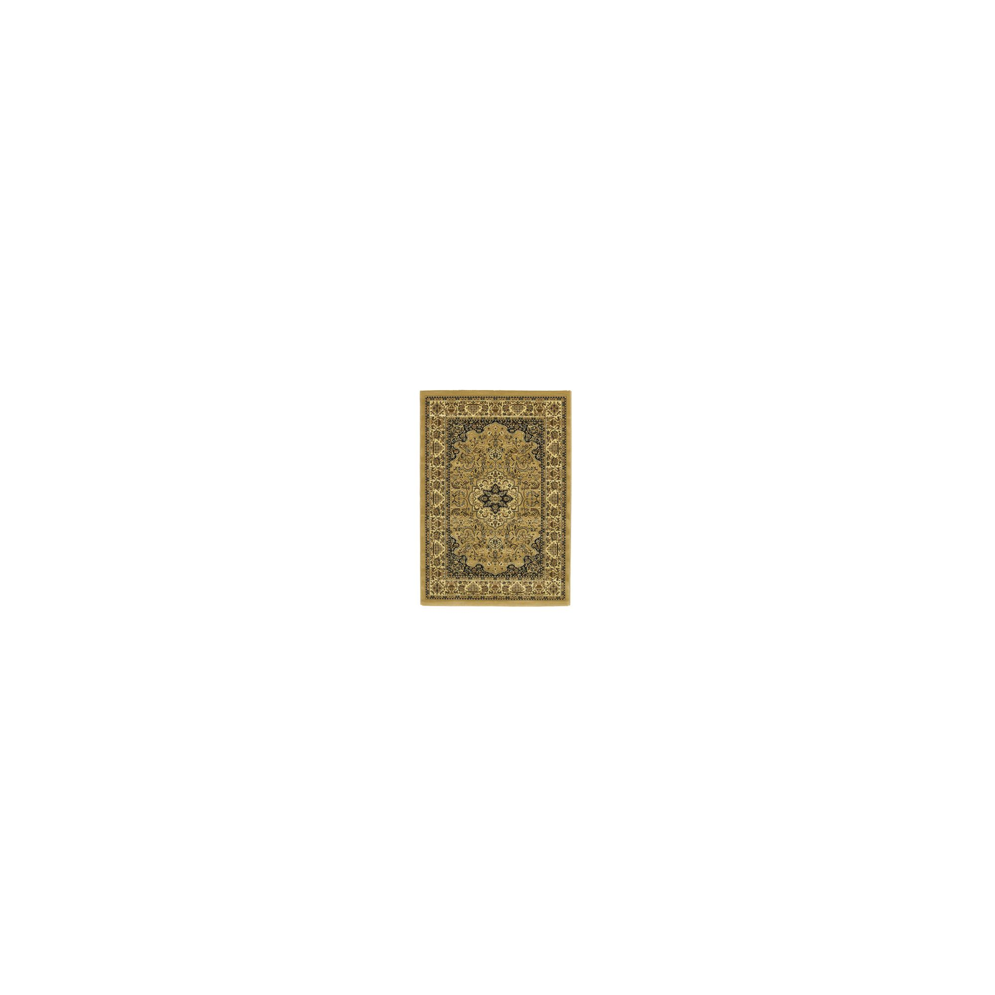 Oriental Carpets & Rugs Heritage 02A Beige Rug - 280cm x 380cm at Tesco Direct