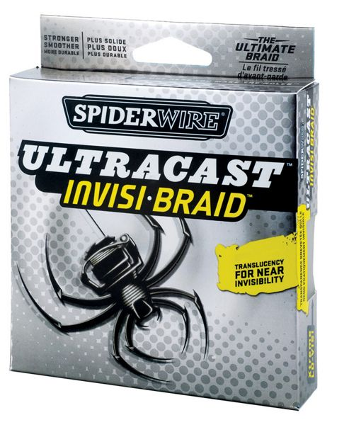 Spiderwire Ultracast Invisi Braid 125 Yards 6 lb
