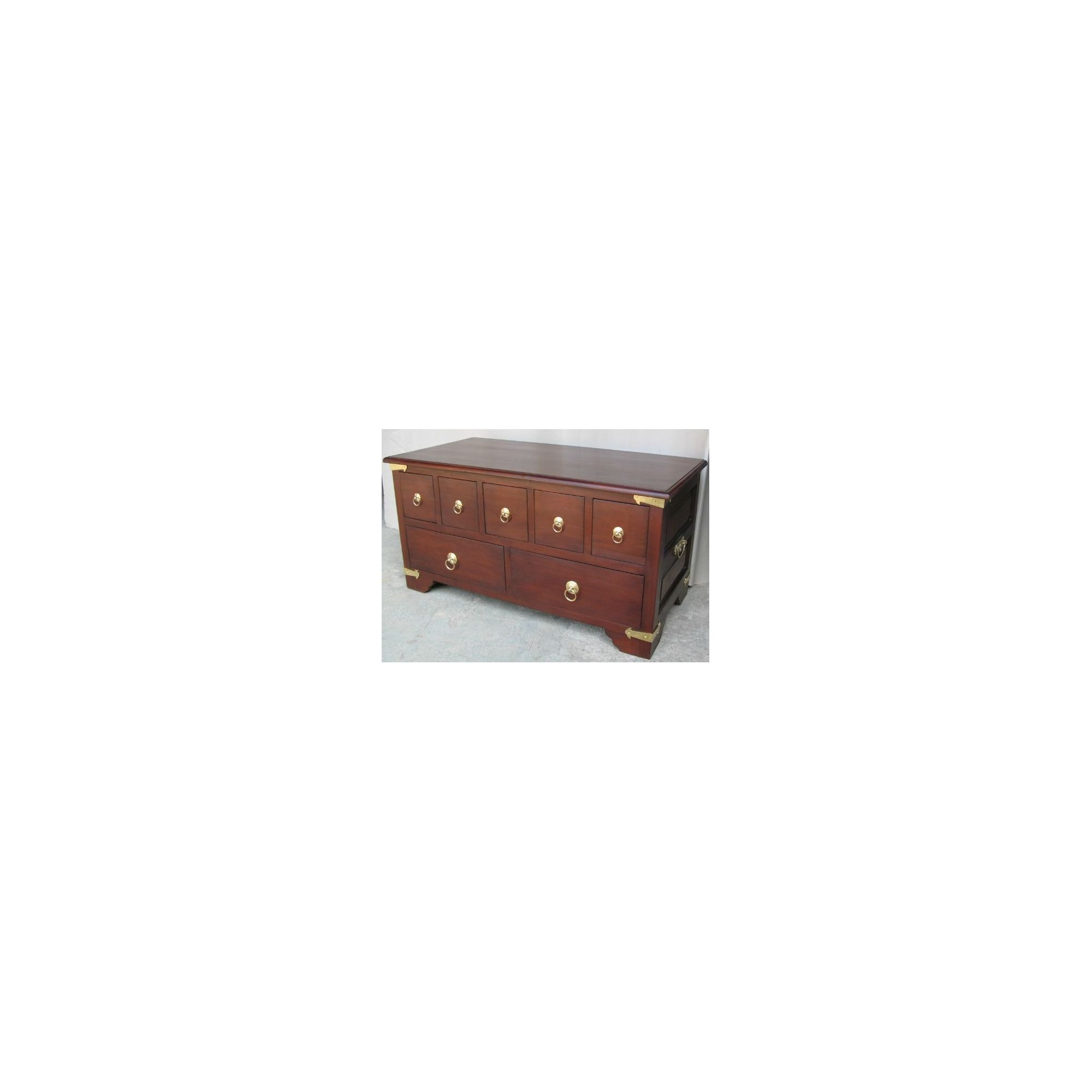 Lock stock and barrel Mahogany CD Coffee Table in Mahogany at Tesco Direct
