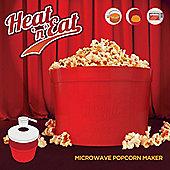 Heat 'n' Eat Microwave Popcorn Maker