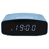 Tesco CR1401B FM Clock Radio Blue