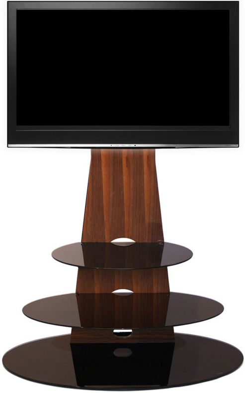 Gecko Orbit 1000 Walnut TV Stand for 32 inch -55 inch TVs