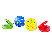 Bigjigs Toys BJ198 Snazzy Castanets (Pack of 2 - Designs Vary)