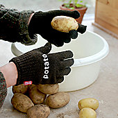 Potato Scrubbing Gloves - 1 pair gloves