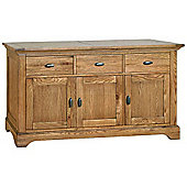 Kelburn Furniture Union Large Sideboard in Antique Oak