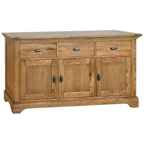 Kelburn Furniture Union Large Sideboard in Antique Oak