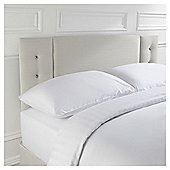 Seetall Jaden Headboard Linen Effect Cream Double