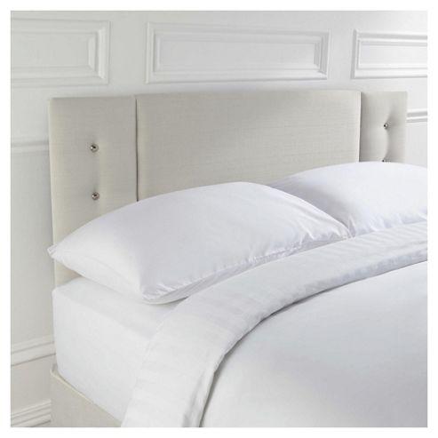 Seetall Jaden Double Upholstered Headboard, Cream
