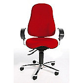 Topstar Sitness 10 Swivel Chair - Red