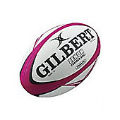 Gilbert Mens Zenon Training Rugby Ball Size 5 Fluoro