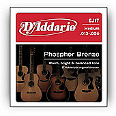 D'Addario Phosphor Medium Acoustic Guitar Strings