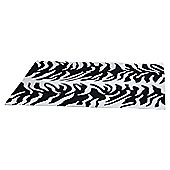 Ultimate Rug Co Aspire Tigre Cream / Black Contemporary Rug - 150cm x 240cm