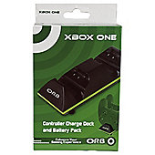 Dual Controller Charge Dock With Batteries (Xbox One)