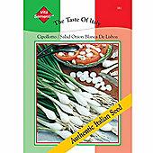 Spring Onion 'Cipollotto Blanca de Lisboa' - Vita Sementi® Italian Seeds - 1 packet (1400 spring onion seeds)