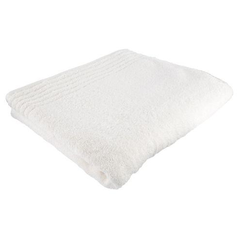 Tesco 100% Egyptian Cotton Bath Towel Cream