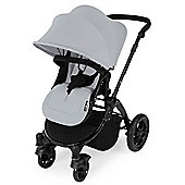 Ickle Bubba Stomp V3 AIO Maxi Cosi Travel System/ Silver (Black Chassis)