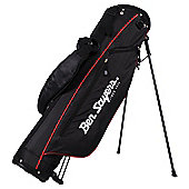 Ben Sayers 6 Inch Pencil Stand Golf Bag in Black & Red
