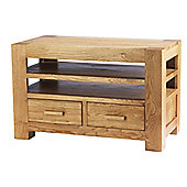 Solid Oak TV Unit for TVs up to 42 inch