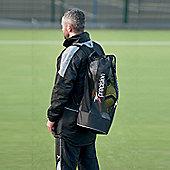 Precision Football Shoulder Straps Nylon Mesh PU 3 Balls Tubular Bag