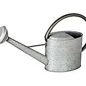 Parlane Large Rustic Metal Grey Watering Can - 31 x 53 x 16cm
