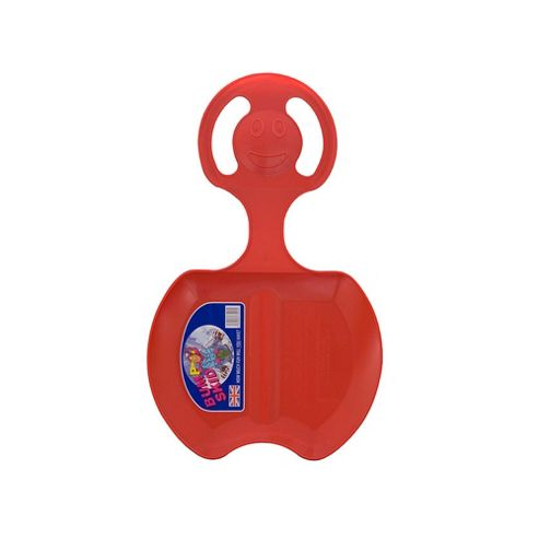 Red Plastic Snow Skimmer Bump Sled