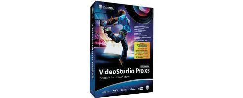 COREL - COMMERCIAL BOX - VIDEOSTUDIO PRO X5 ULTIMATE - EN